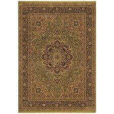 Renaissance Mirabella Light Green/Beige Rug