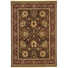 Renaissance Sienna Dark Brown Rug