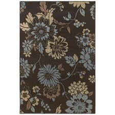 Concepts Flora Vista Brown/Blue Rug