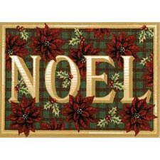 Home for the Holidays Noel Novelty Rug
