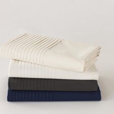 Pin Tuck 300 Percale Sheet Set