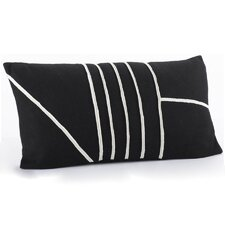 Linear Wool Decorative Pillow