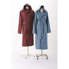 Cloud Brushed Flannel Hooded Robe