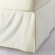 Sateen 300 Thread Count Organic Cotton Bed Skirt