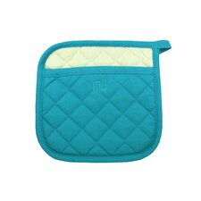 "MUincotton 9"" x 9"" Potholder in Sea Blue"