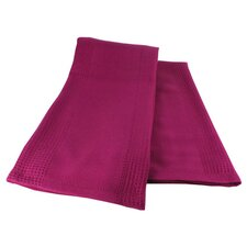 MUbamboo Dish Towel in Eggplant (Set of 2)