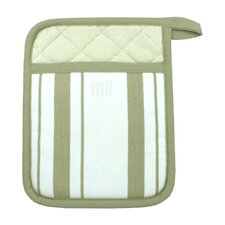 MUincotton Potholder in Sand Stripe (Set of 2)