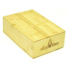 "3"" Bamboo Yoga Block"