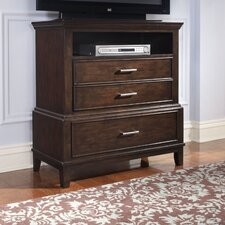 Vantage 3 Drawers Media Chest