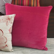 Narcissus Solid Velvet Decorative Pillow