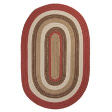 Brooklyn Terracotta Braided Rug