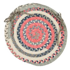 Print Party Ovals Chair Pad (Set of 4)