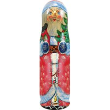 Russia Santa Tree Bottle Holder