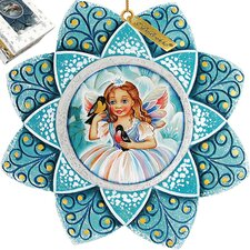 Fairy Snowflake Ornament
