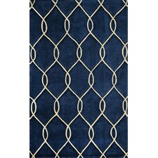 Bliss Navy Tufted Rug
