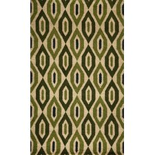 Habitat Green Tufted Rug