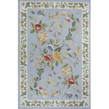 Spencer Blue Country/Floral Rug
