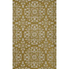 Suzani Hook Gold Rug