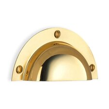 Beslagsboden Cup Drawer Pull in Brass