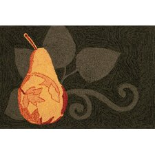 Pear Noir Novelty Rug