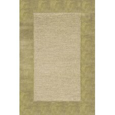 Madrid Sage Border Rug