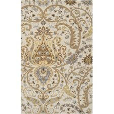 Ancient Treasures Ivory Rug