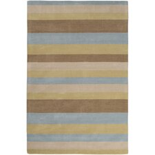 Loft Aqua/Light Green Rug