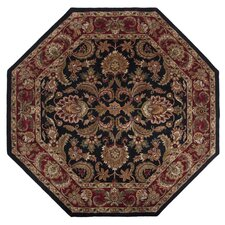 Ancient Treasures Jet Black Rug