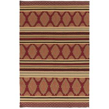Frontier Redwood/Pale Gold Rug