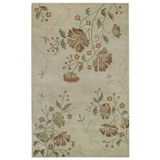 Brock Haven Orchids Cream Rug