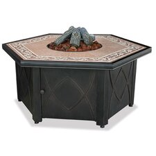LP Gas Fire Pit Table wi
