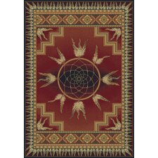 Genesis Dream Catcher Crimson Rug