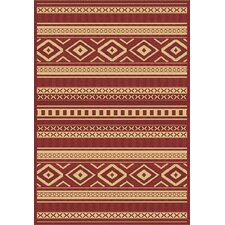 Piazza Red Rug