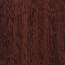 "Beckford Plank 3"" Engineered Red Oak Flooring in Cherry Spice"