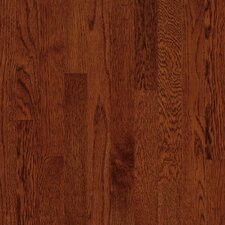 "Kingsford Strip 2-1/4"" Solid White Oak Flooring in Cherry"