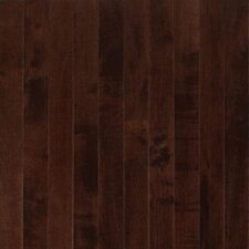 SAMPLE - Sugar Creek Plank Solid Maple in Cocoa Brown