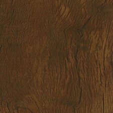 "Luxe Timber Bay Hickory 6"" x 48"" Vinyl Plank in Umber"