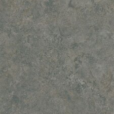 "Alterna Multistone 16"" x 16"" Vinyl Tile in Slate Blue"
