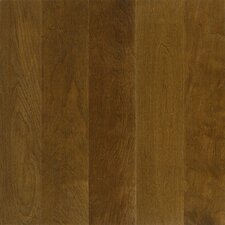 "Performance Plus 5"" Acrylic-Infused Engineered Birch Flooring in Dark Forest"