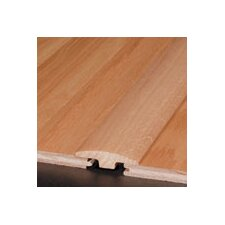 "0.25"" x 2"" Red Oak T-Molding in Chestnut, Gunstock, Nutmeg"