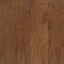 "Beckford Plank 5"" Engineered Red Oak Flooring in Bark"