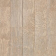 "Performance Plus 5"" Acrylic-Infused Engineered Birch Flooring in Driftscape White"