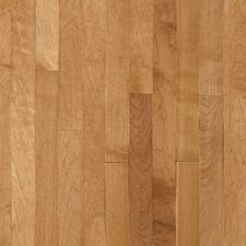 "Kennedale Prestige Plank 3-1/4"" Solid Light Maple Flooring in Caramel"
