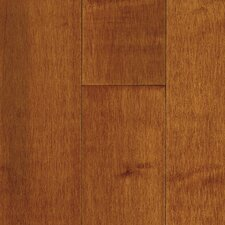 "Natural Choice Strip 2-1/4"" Solid Light / Dark Maple Flooring in Cinnamon"