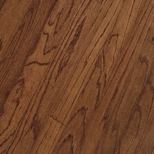"Northshore Strip 2-1/4"" Engineered Red Oak Flooring in Saddle"
