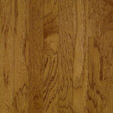 "American Treasures Wide Plank 5"" Solid Hickory Flooring in Oxford Brown"