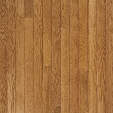 "Fulton Low Gloss Strip 2-1/4"" Solid White Oak Flooring in Fawn"