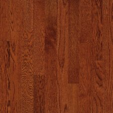 "Natural Choice Strip 2-1/4"" Solid White Oak Flooring in Amber"