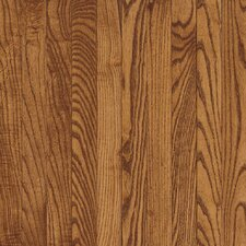 "Natural Choice Strip 2-1/4"" Solid Light / Dark Ash Flooring in Gunstock"