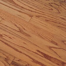 "Northshore Plank 3"" Engineered Red Oak Flooring in Gunstock"